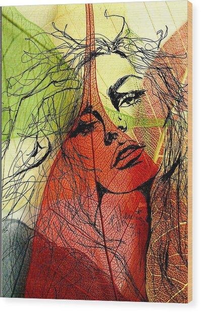 Remembering Fall Wood Print