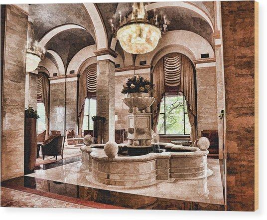 Renaissance Cleveland Hotel - 1 Wood Print