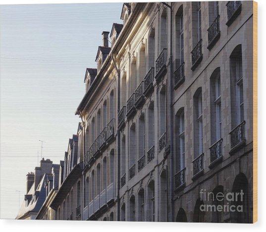 Rennes France 3 Wood Print