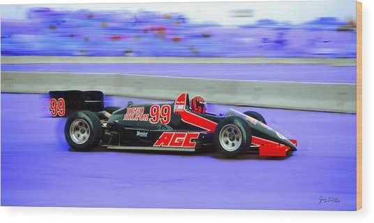 Reno Grand Prix Wood Print