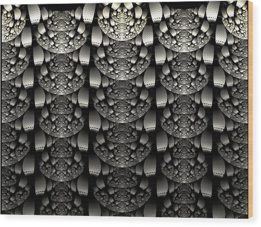 Repetition Wood Print