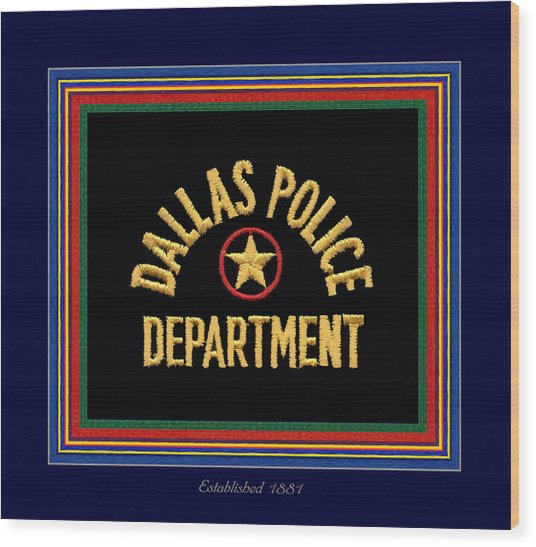 Replica Dpd Patch With Epaulette Colors Wood Print