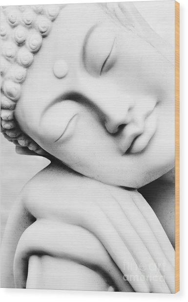 Restful Buddha Wood Print