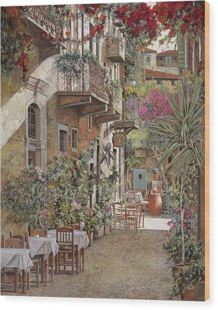 Rethimnon-crete-greece Wood Print