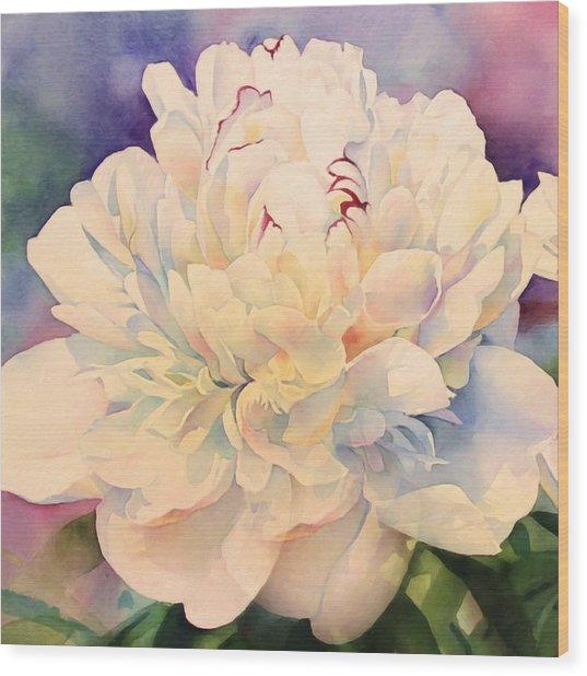 Retro Petals Wood Print