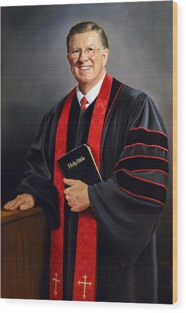 Rev Guy Whitney Wood Print
