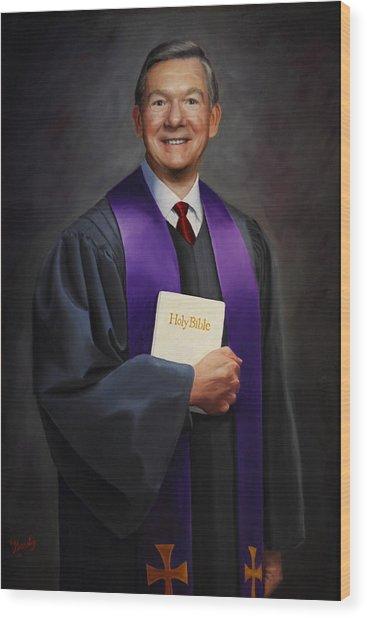 Rev Jack Wilson Wood Print