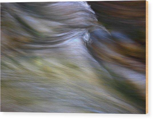 Rhythm Of The River Wood Print