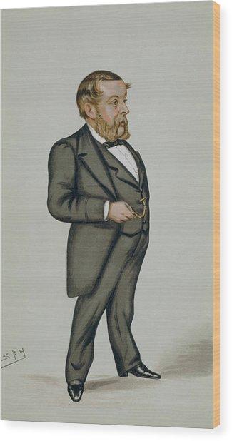 Richard Proctor Wood Print