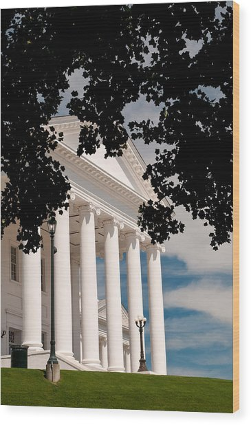 Richmond Capital Wood Print