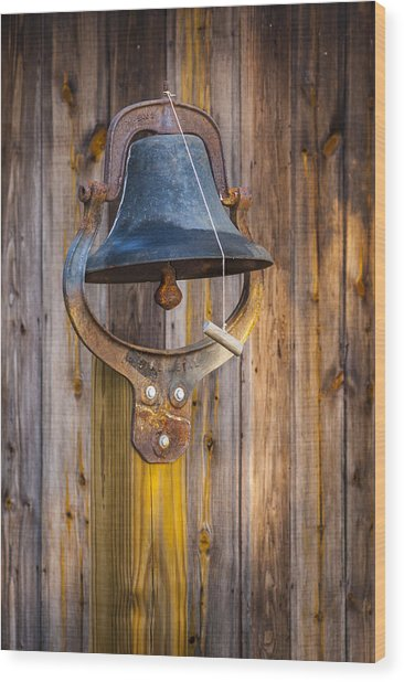 Ring My Tennessee Bell Wood Print
