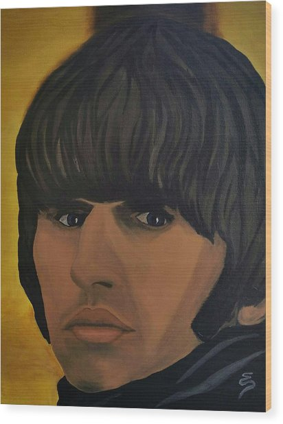 Ringo Star  Beatles For Sale Wood Print