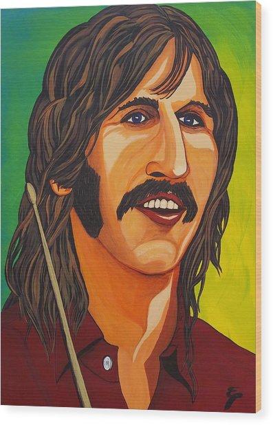 Ringo Star    Stick Wood Print