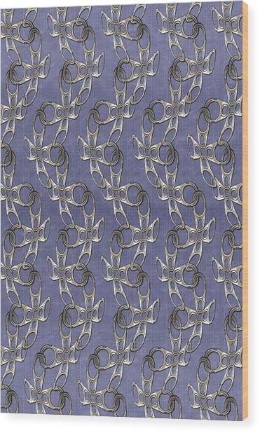 Ringpull Wood Print