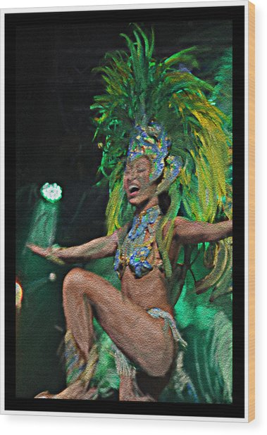 Rio Dancer I B  Wood Print