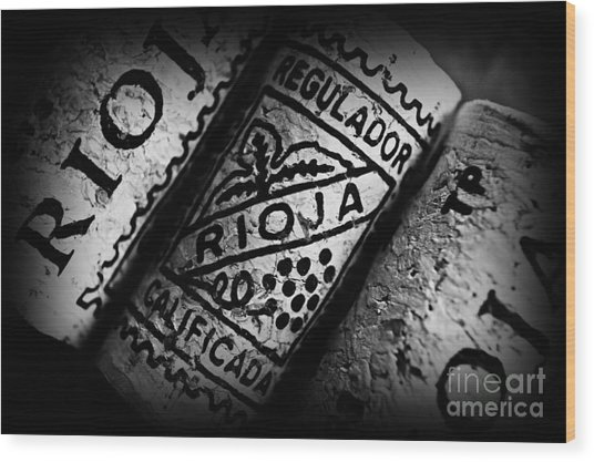 Rioja Wood Print
