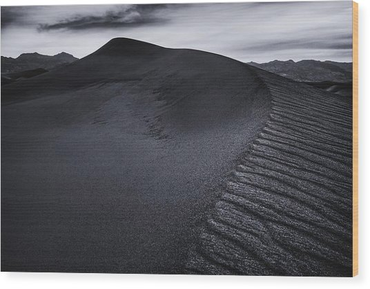 Rippled Dune Wood Print