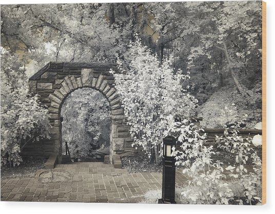 Ritter Park Arch Wood Print
