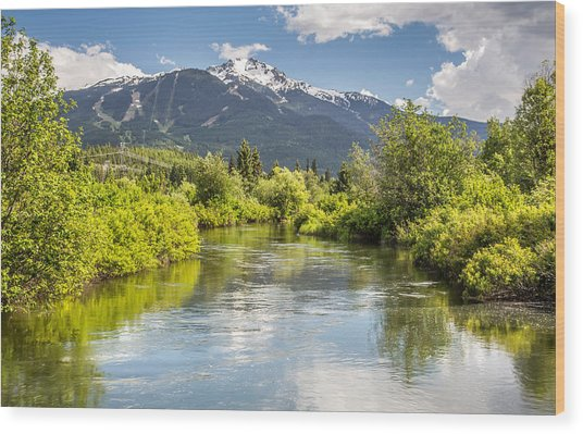 River Of Golden Dreams Wood Print by Pierre Leclerc Photography