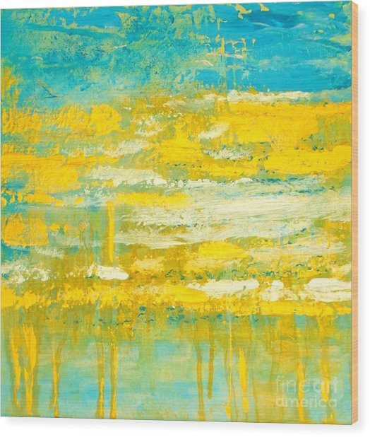 River Of Praise Wood Print