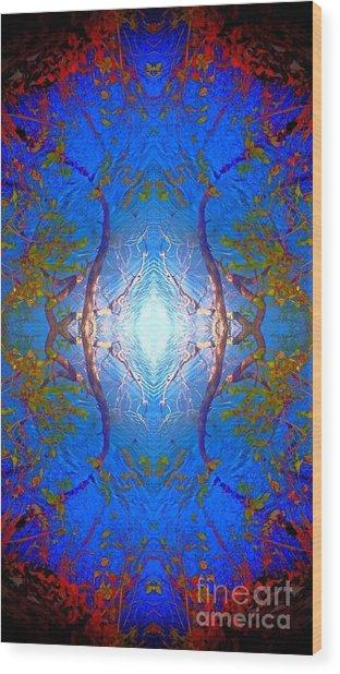 River Portal Wood Print
