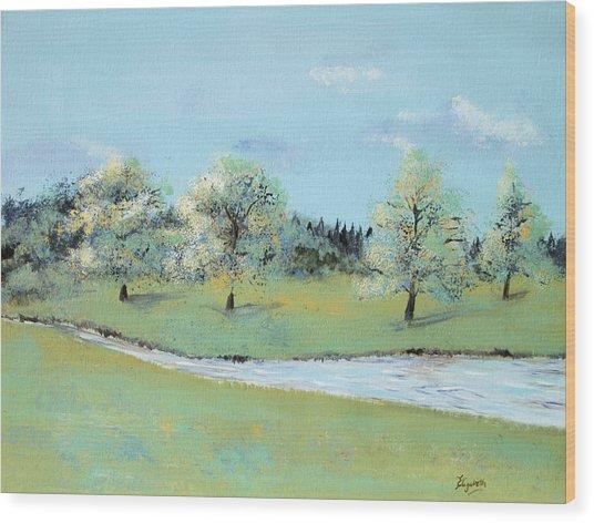 River Windrush Wood Print
