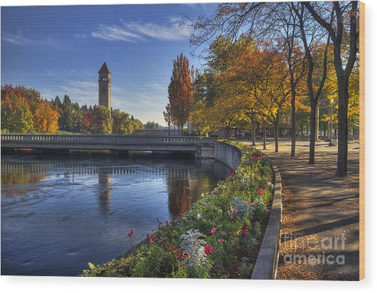 Riverfront Park - Spokane Wood Print