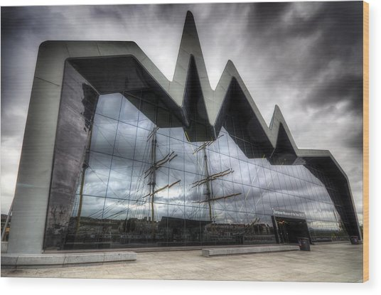 Riverside Museum Wood Print