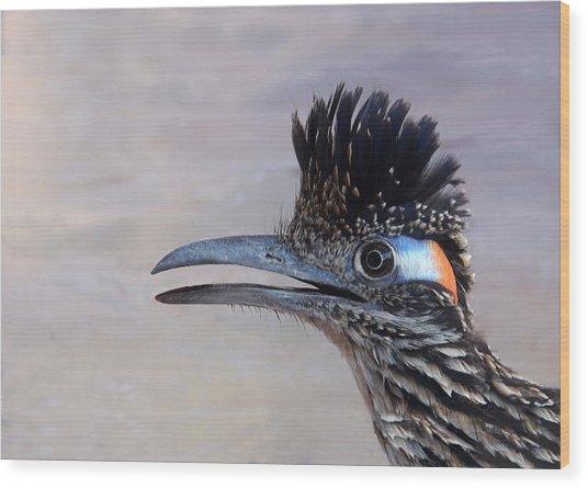'roadie' Wood Print