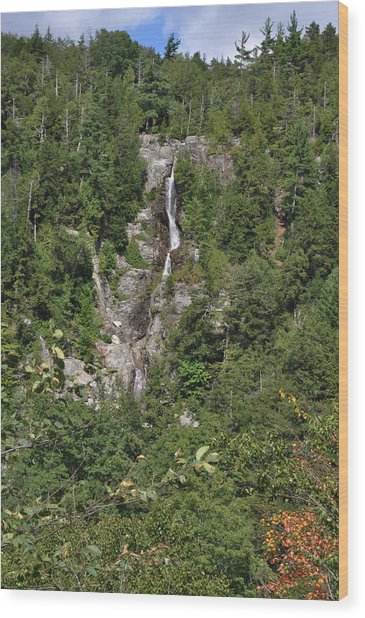 Roaring Brook Falls  Wood Print