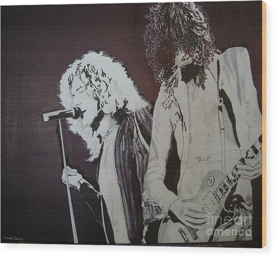 Robert And Jimmy Wood Print