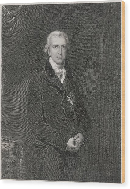 Robert Banks Jenkinson (1770-1828) Wood Print by Mary Evans Picture Library