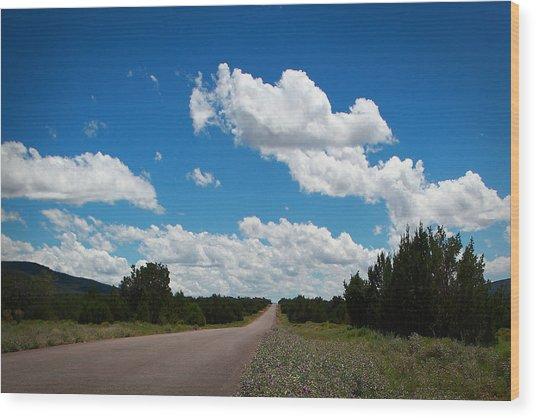 Robert Melvin - Fine Art Photography - Anvil Rock Road Wood Print