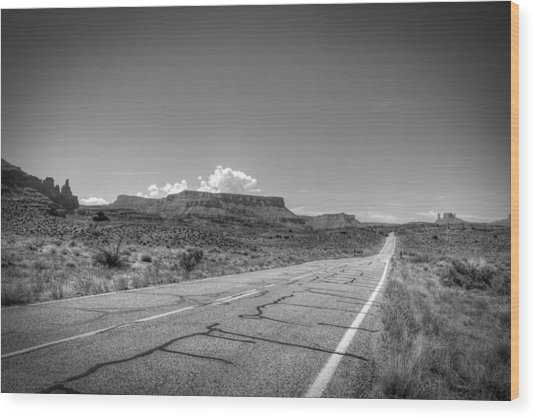 Robert Melvin - Fine Art Photography - Highway 128 Wood Print