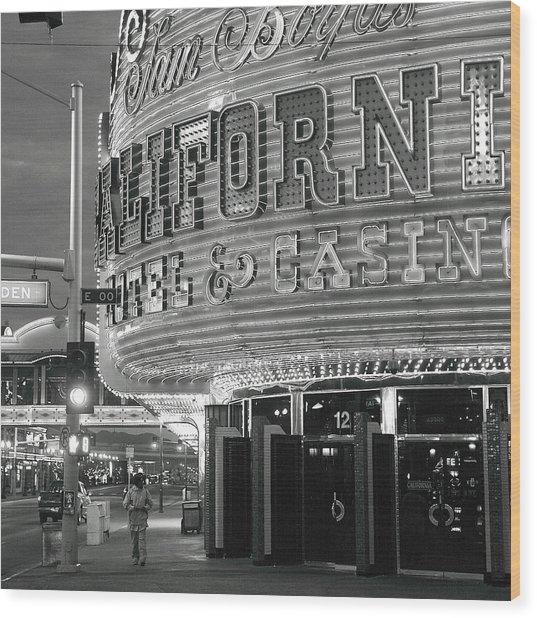 Robert Melvin - Fine Art Photography - Sin City - The Californian Wood Print