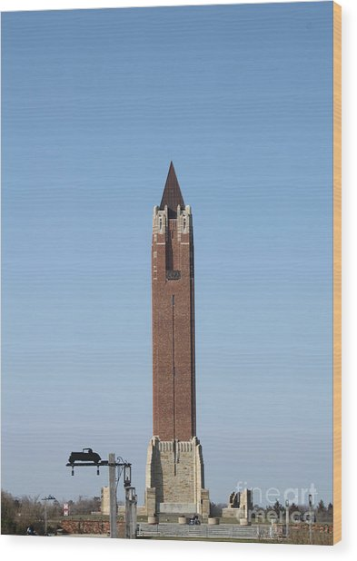 Robert Moses Tower At Jones Beach Wood Print