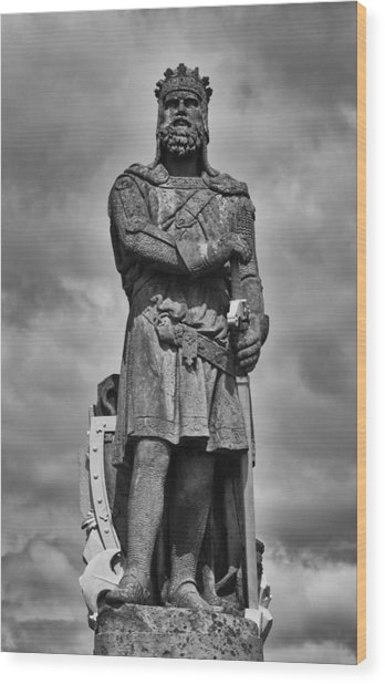 Robert The Bruce Wood Print