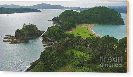 Roberton Island Wood Print