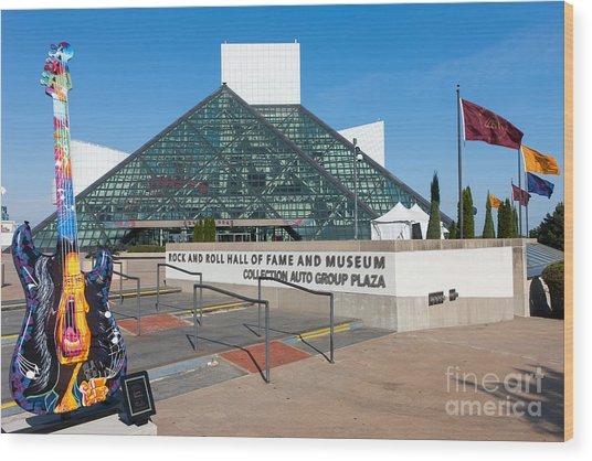 Rock And Roll Hall Of Fame IIi Wood Print
