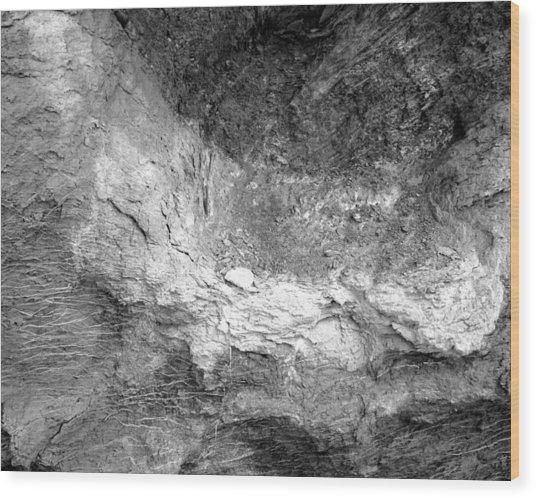 Rock Grain Wood Print