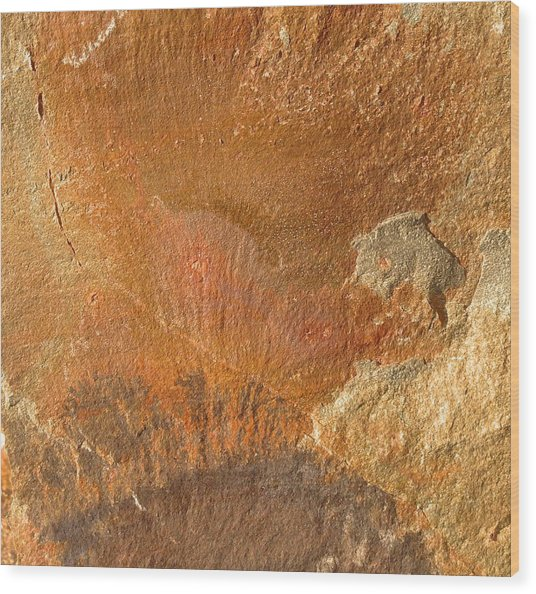 Rockscape 6 Wood Print