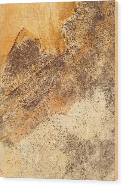 Rockscape 7 Wood Print