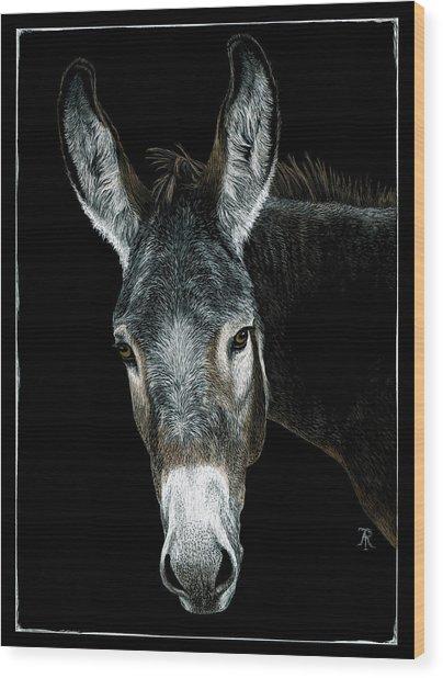 Rocky Wood Print