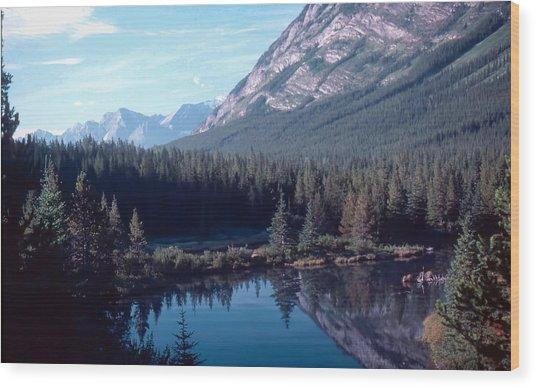 Rocky Mountain Gem Wood Print