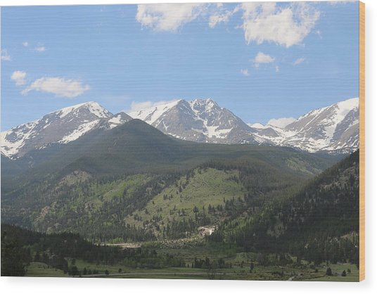 Rocky Mountain National Park - 3  Wood Print
