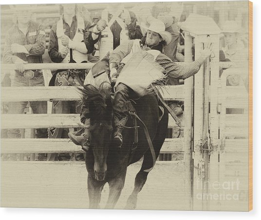 Rodeo Show Your Stuff Wood Print