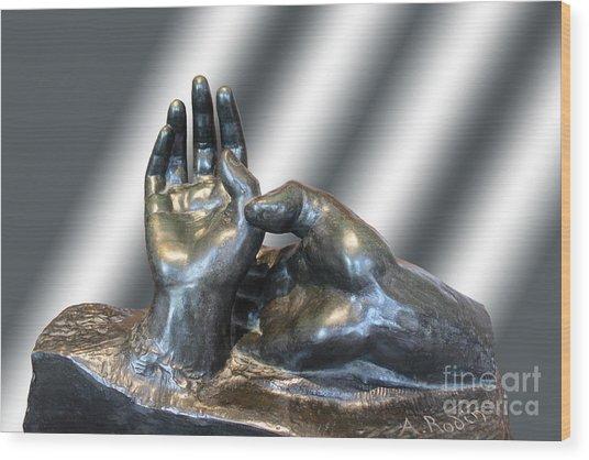 Rodin Series 02 Wood Print