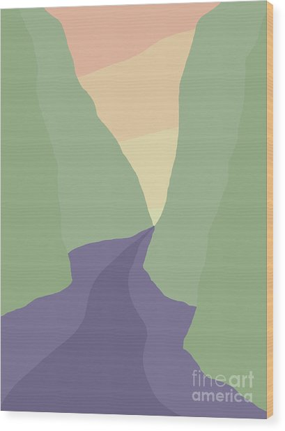 Rogue River Canyon Wood Print