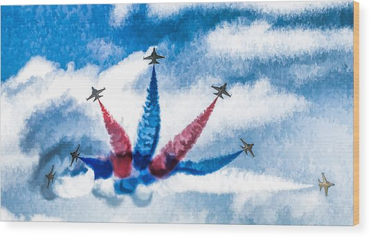 Rokaf Oil Painting Wood Print