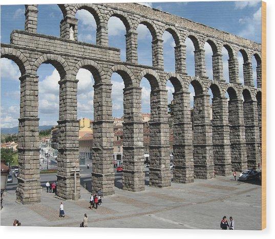 Roman Aqueduct IIi Wood Print